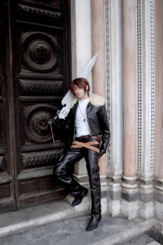FF VIII: Squall, the calm before the fight by Stiz89Phoenix