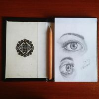 Eye Practise by nisinem