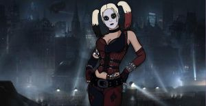 Harley Quinn - Arkham City by Dark-Link-2391