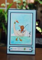 Card: Friends make life more fun by Tiny-Tyke