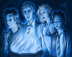 The Triwizard Contestants by Krokuta
