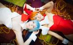 Beautiful Bunnies - Evangelion by Mostflogged