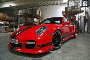 Porsche 911 Turbo DKR Tuning by TheCarloos