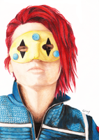 Gerard Way by coeurdalene