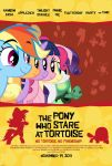 The Pony Who Stare At Tortoise - Rainbow Dash Tank by normanb88