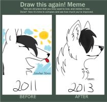 Draw This Again Meme by ForestAntlers