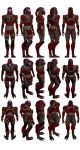 Mass Effect 2, Kal'Reegar Model Reference. by Troodon80