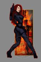 Black Widow II by Raro666