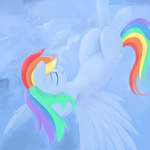 Rainbow Dash by DimFann
