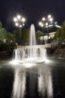 Town Square Fountain by xjoelywoelyx