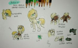 Mlp: Alexis by BlackTempestBrony
