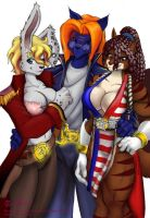 A threesome by Beowulf-Kennedy