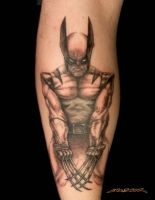 Wolverine Tattoo by MuddyGreen