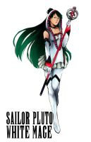 Sailor Pluto - White Mage by AkiDead