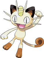 Vector - Meowth 'Pokemon' by TheMidknightStar