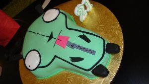 GIR cake by DramaDollLover