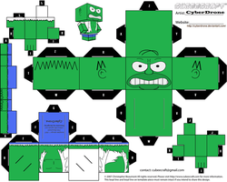 Cubee - Homer 'Hulk' by CyberDrone
