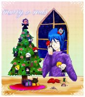 merry x_mas_from all akatsuki by Lezzette