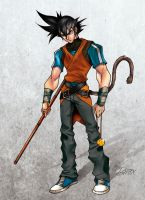 Son Goku color by alexMTX
