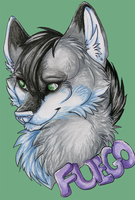 Fuego free badge thingy by nightspiritwing