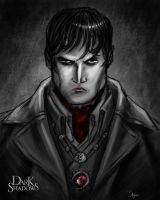Dark Shadows Contest Portrait by sahinduezguen
