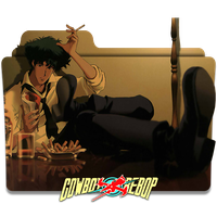 Icon Folder - Cowboy Bebop by alex-064