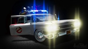 Ghostbusters - Ecto-1 (1984) [Updated] by Alaska-Pollock