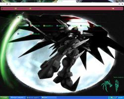 DeathScythe Hell Custom Theme by KioTsukioni