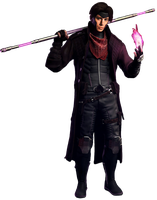 Gambit - Transparent Background! by Camo-Flauge