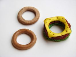 Changeable Sandwich Ring by yobanda