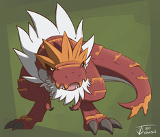 Tyrantrum by whmSeik