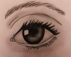 Eye Drawing by chloesmith8