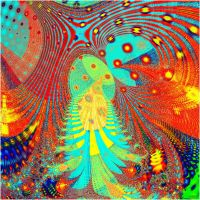 abstract- fractal Sterling-alien by sonafoitova