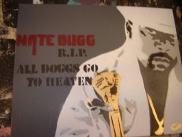 Nate Dogg RIP by Stencils-by-Chase