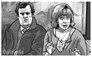 Julie and Brian Coronation Street by pickledjo