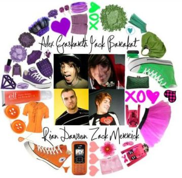 All Time Low Circle - Polyvore by LuxrayAndAllTimeLow