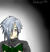 Zexion iScribble by AshAngel899