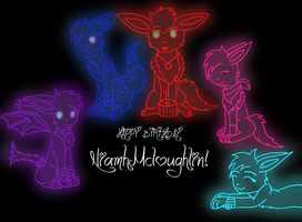 Happy Birthday McE by Trixiemegatoon