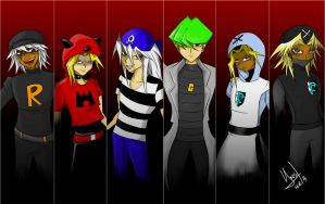 CrossPic: Poke-Villains Theme by Yami-No-Spirit-luver