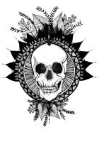Skull to the Arrow by SarahMaeDesigns