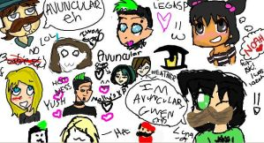 iScribble, Aha :3 by ChineseTakeout