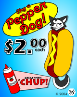 Pepper Dog by MalamiteLtd