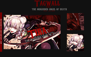 Tira The Misguided Angel of Death [TAGWALL] by MayaGenetic