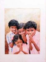 Children from India by kantstanja