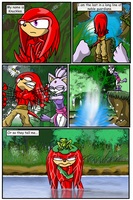Knuckles-Exodus page 1 by SonicUnbound
