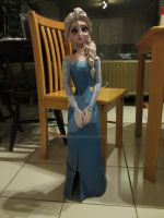 Elsa Papercraft by Deprezke