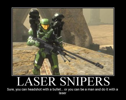 MP: Laser Snipers by pirostyle