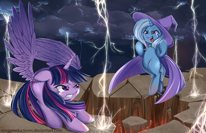 Magic Showdown by OMGProductions