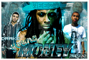 Young Money by DaBlakArtist