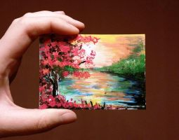 ACEO - Acryl painting by keopsa